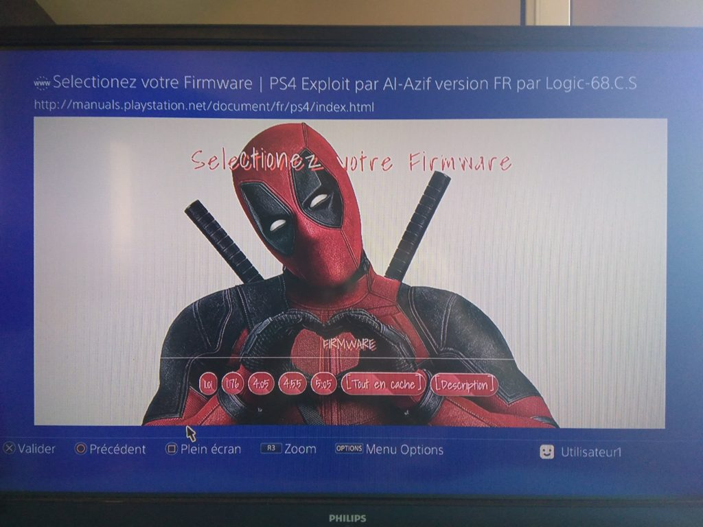 PS4-Exploit FR 0.4.6a1_deadpool
