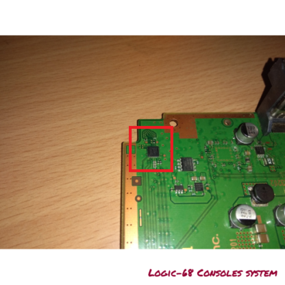 Power PS4 ON OFF MCU STM8ED Logic 68 Console System