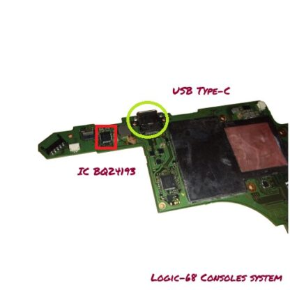 IC BQ24193 Nintendo Switch Logic 68 Consoles System